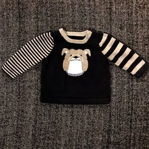 Other - Navy and grey sweater missing brand and size tag.